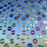 """""""Mirror Culture"""" Installation Made of 6,000 CDs"""