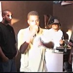 Rare Footage of Teenage Kanye West Rapping