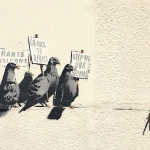 "Banksy Piece Removed for being ""Offensive and Racist"""