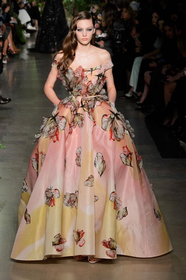 Elie Saab Haute Couture S S 2015 Paris Graveravens