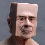 Deformed Portraits by artist Lee Griggs