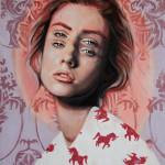 Double Vision Portraits by artist Alex Garant