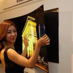 LG Introduces Wallpaper TV Screen