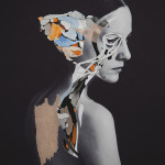 Collage Portraits by artist Rocío Montoya
