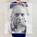 Sheer Paper Portraits by artist Yoo Hyun