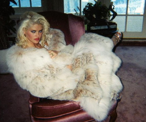 Vintage fur and anna nicole smith