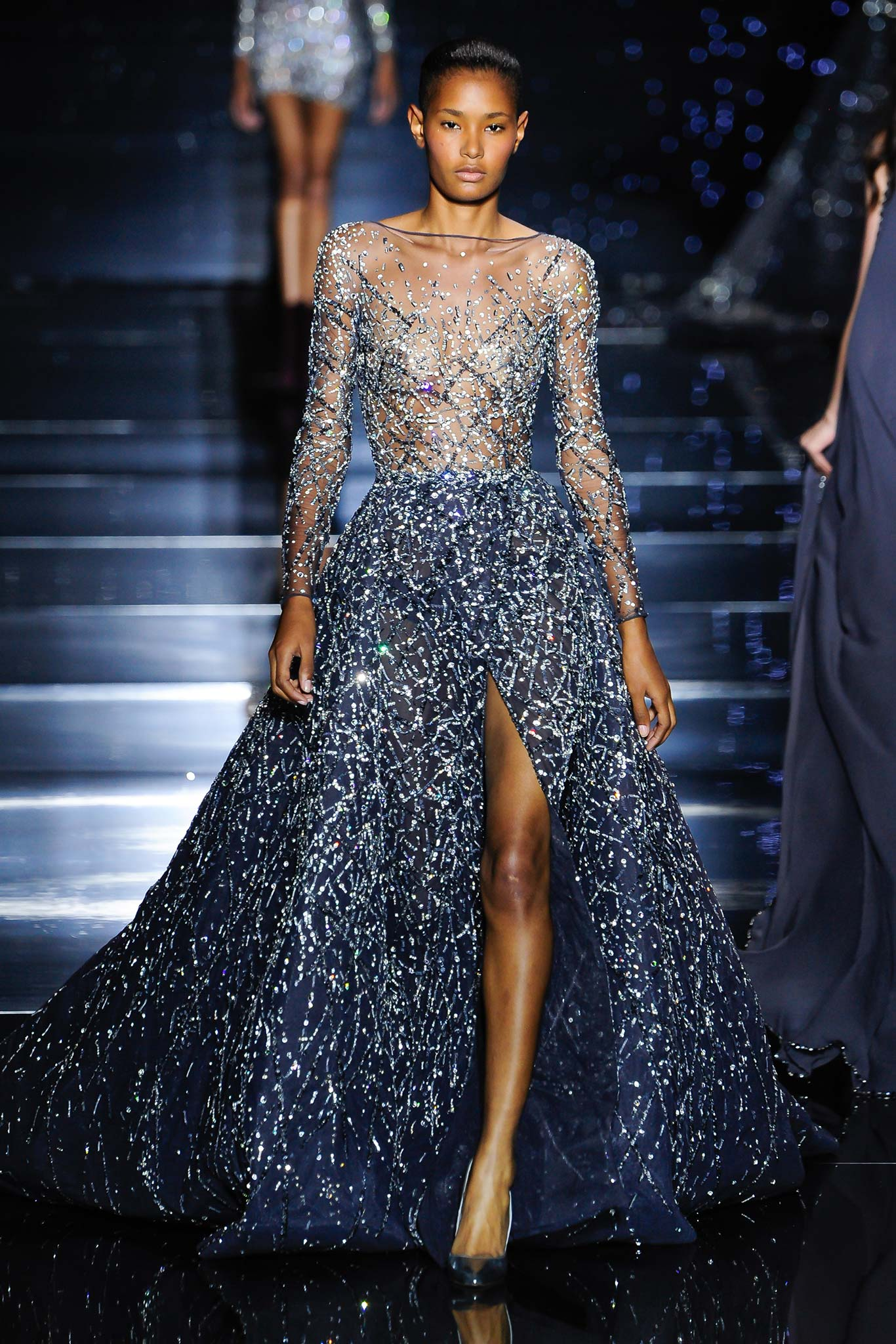 Zuhair murad haute couture f w 2015 paris graveravens for Hout couture