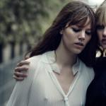 Freja Beha Erichsen & Lara Stone by Peter Lindbergh