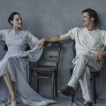 ANGELINA JOLIE & BRAD PITT by PETER LINDBERGH