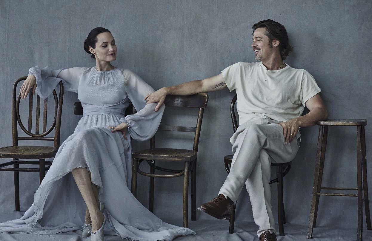 ANGELINA JOLIE & BRAD PITT by PETER LINDBERGH | GRAVERAVENS