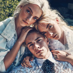 Lucky Blue Smith & Fam by Beau Grealy
