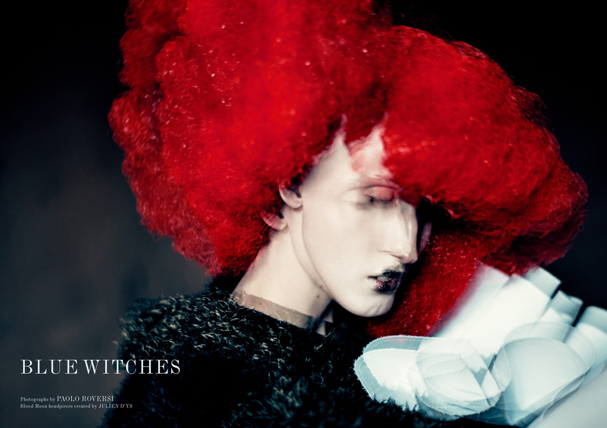 Anna Cleveland by Paolo Roversi (1)