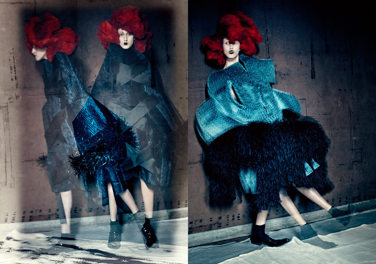 Anna Cleveland by Paolo Roversi (2)