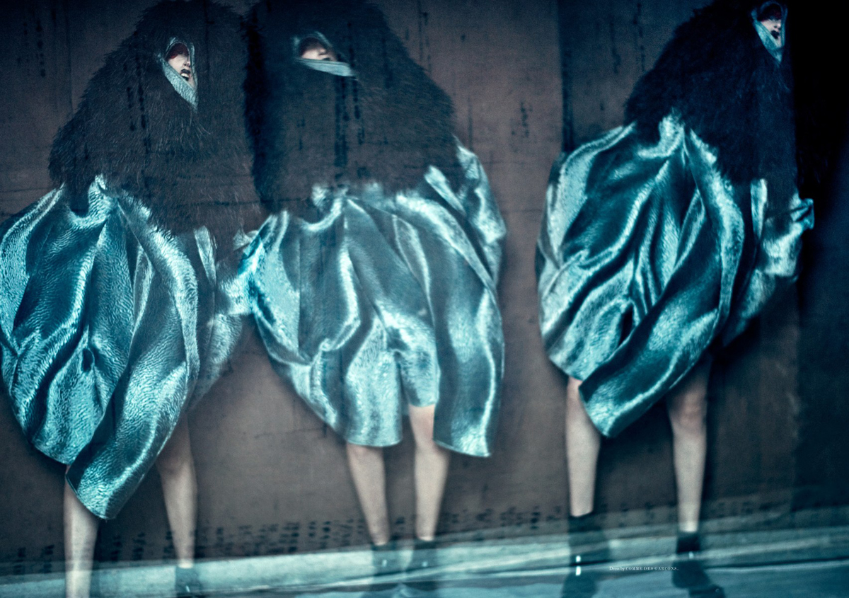 Anna Cleveland by Paolo Roversi (3)