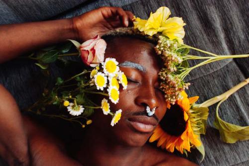 Floral Black Masculinity by Lynette Luna (1)