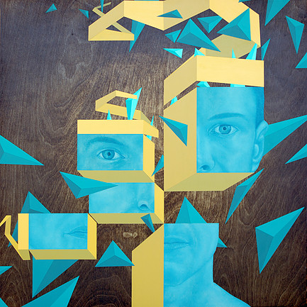 Mixed Media Portraits by Johnie Thornton (7)