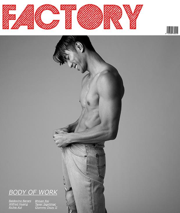 FACTORY Fanzine Issue 01, Body of Work by Baldovino Barani (1)