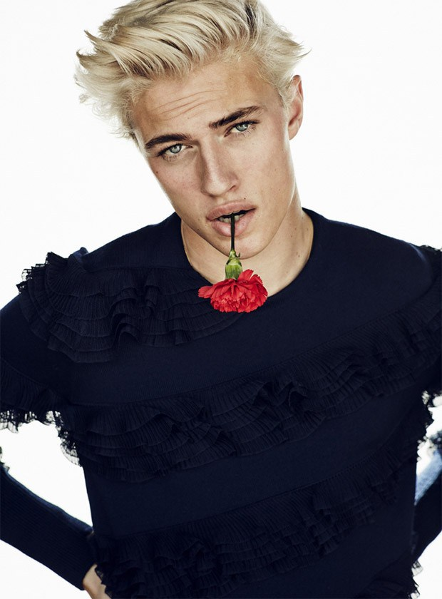 Lucky Blue Smith by Sergi Pons (4)