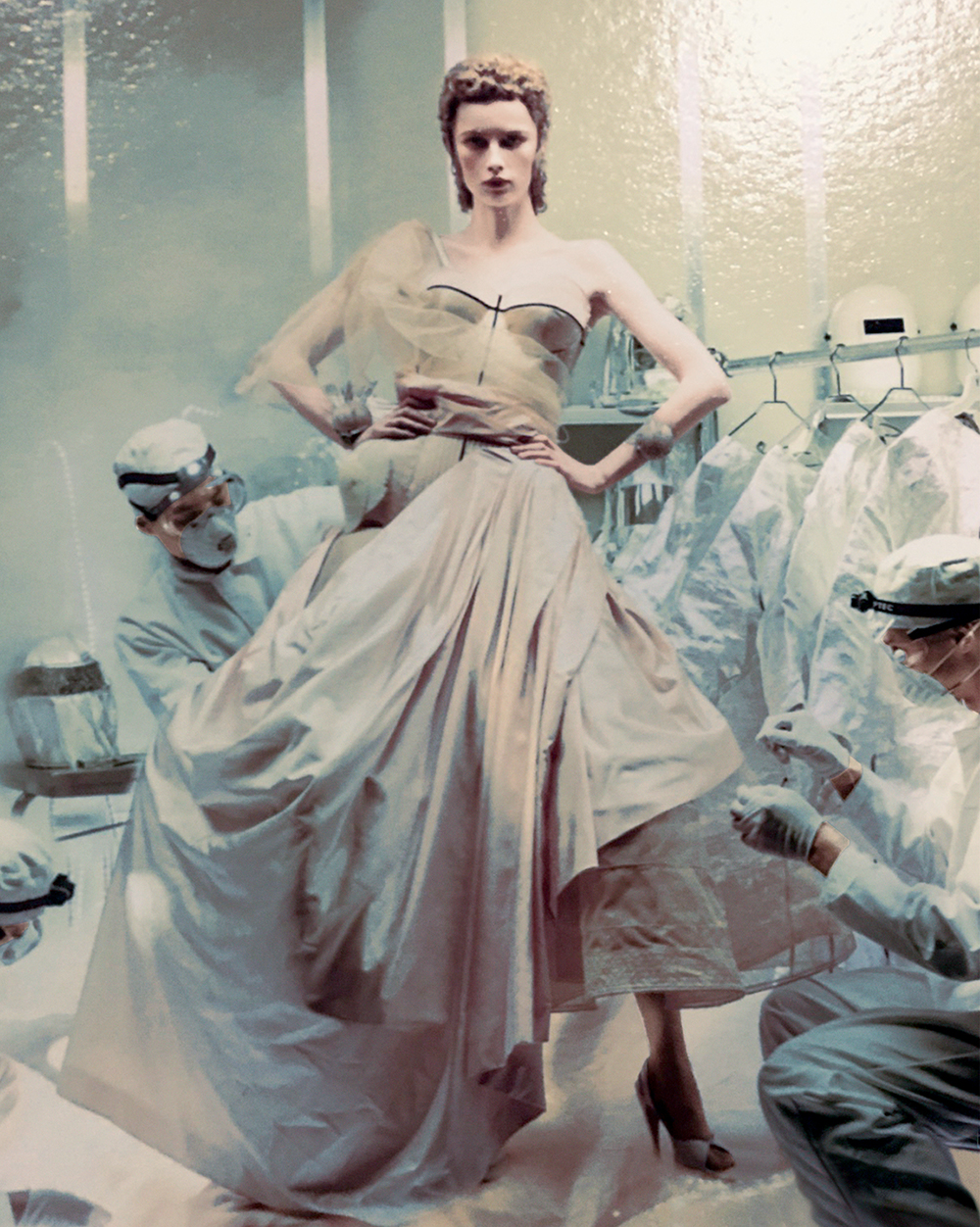 Rianne Van Rompaey by Steven Meisel (2)