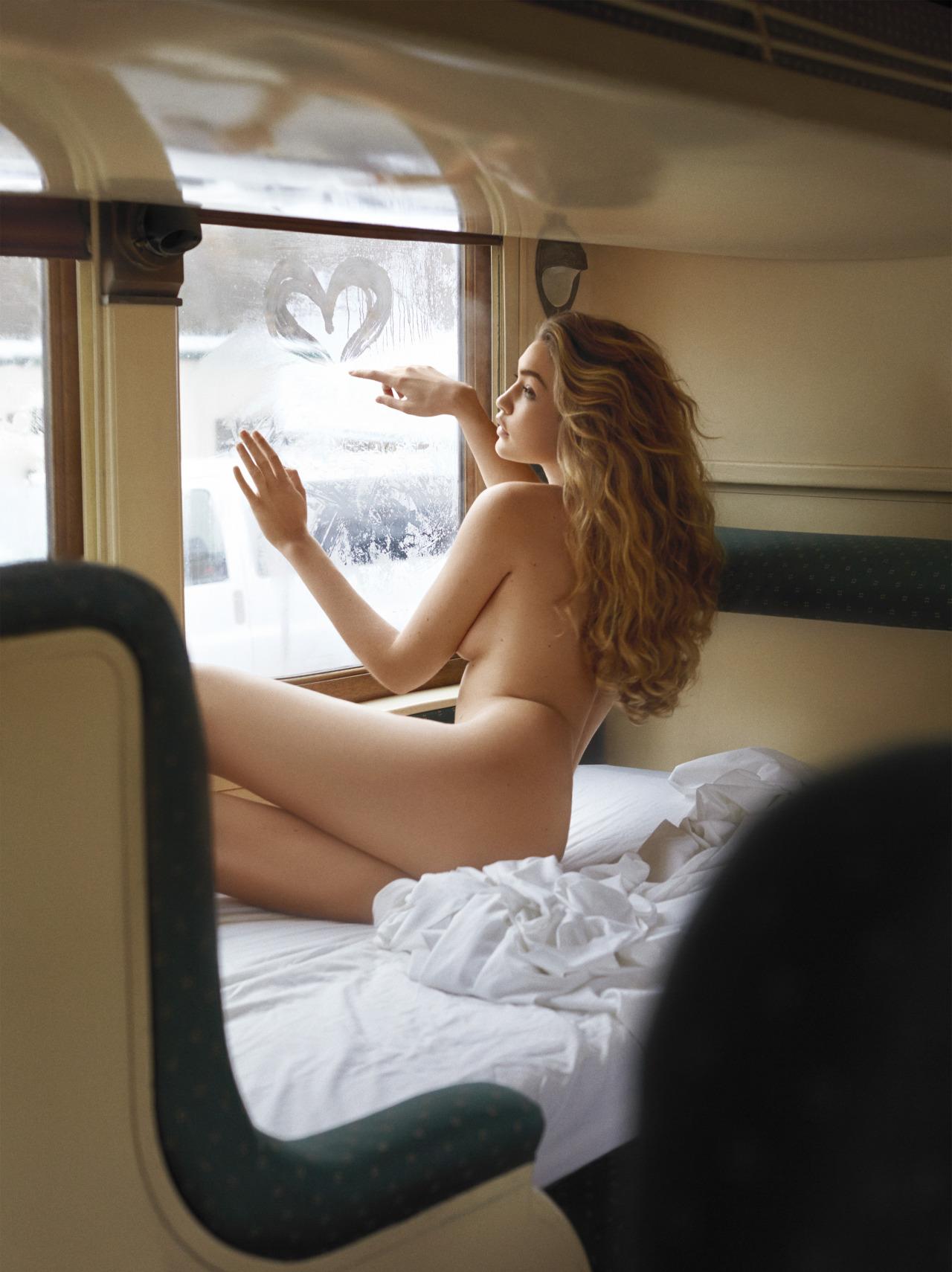 Gigi Hadid by Sebastian Faena (1)