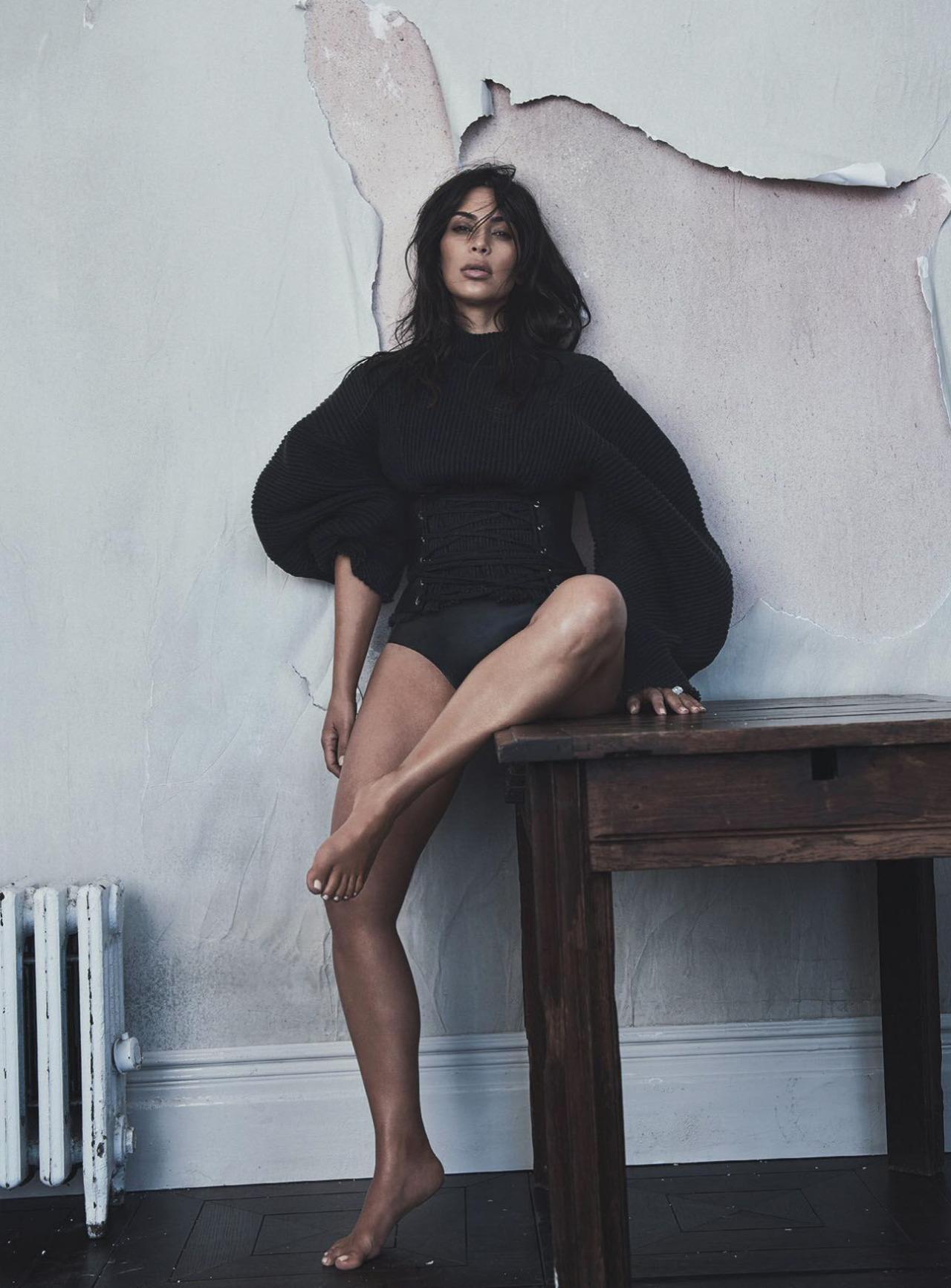 Kim Kardashian by Lachlan Bailey (9)