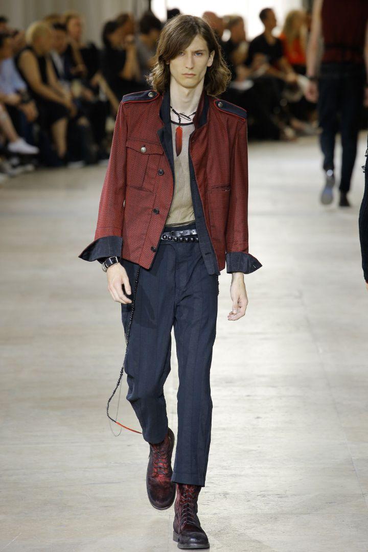 Ann Demeulemeester Menswear SS 2017 Paris (14)