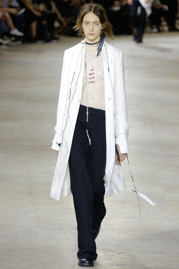 Ann Demeulemeester Menswear SS 2017 Paris (17)