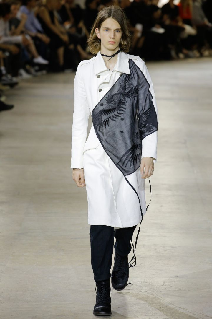 Ann Demeulemeester Menswear SS 2017 Paris (2)