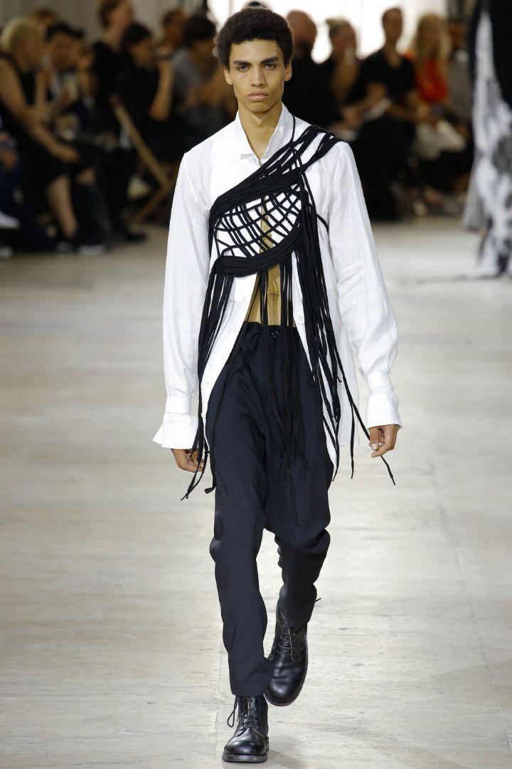 Ann Demeulemeester Menswear SS 2017 Paris (29)