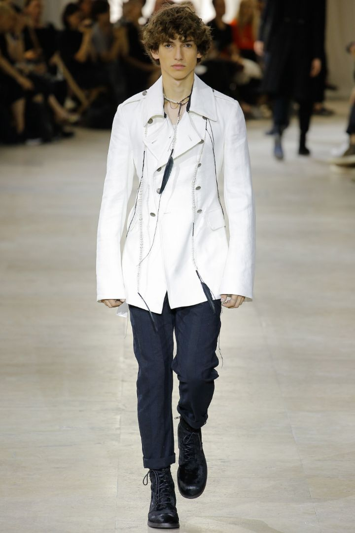 Ann Demeulemeester Menswear SS 2017 Paris (3)