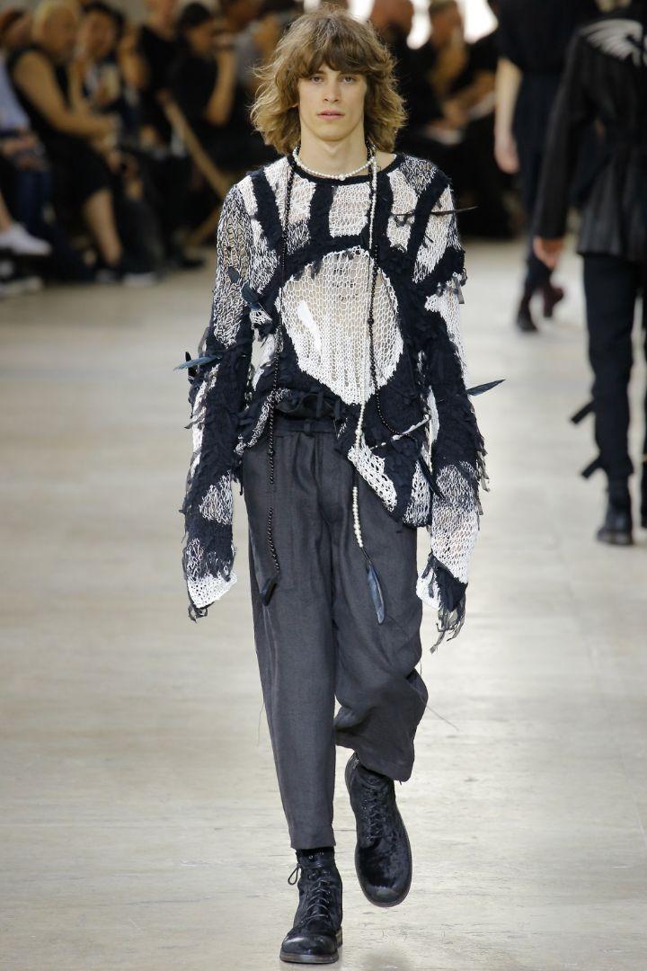 Ann Demeulemeester Menswear SS 2017 Paris (30)