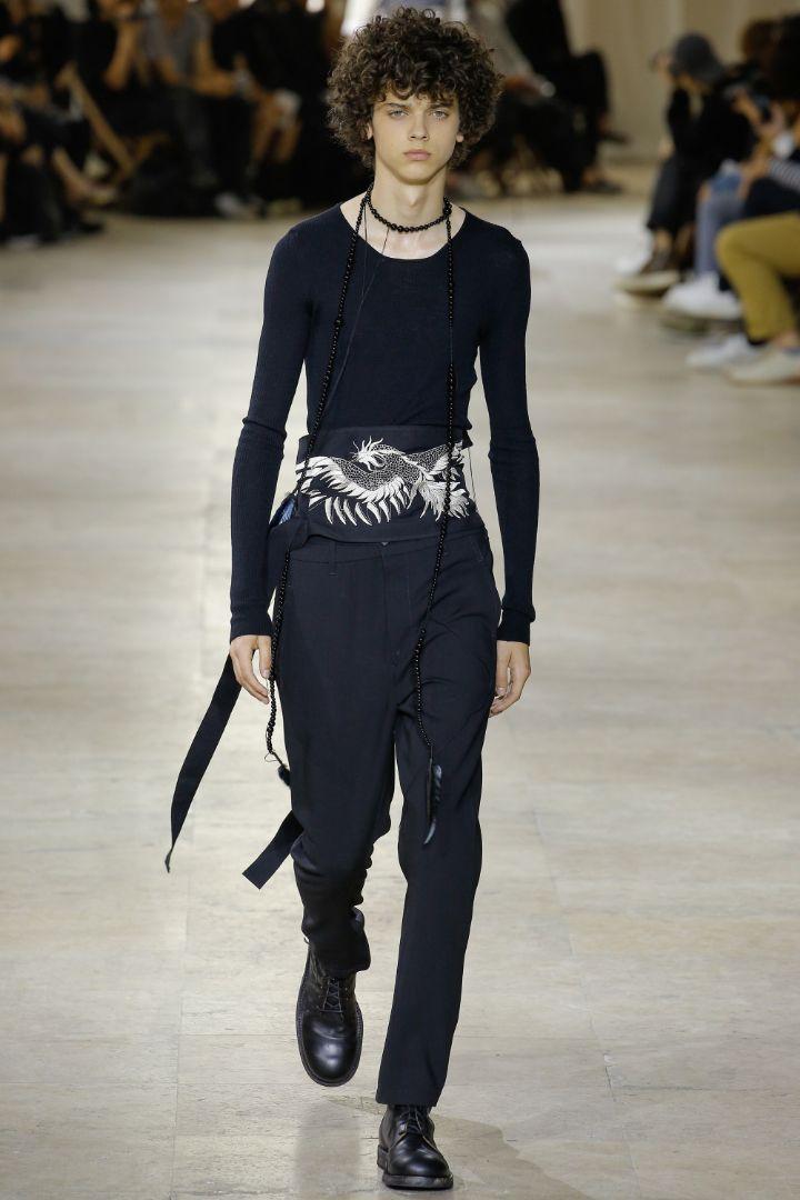Ann Demeulemeester Menswear SS 2017 Paris (4)