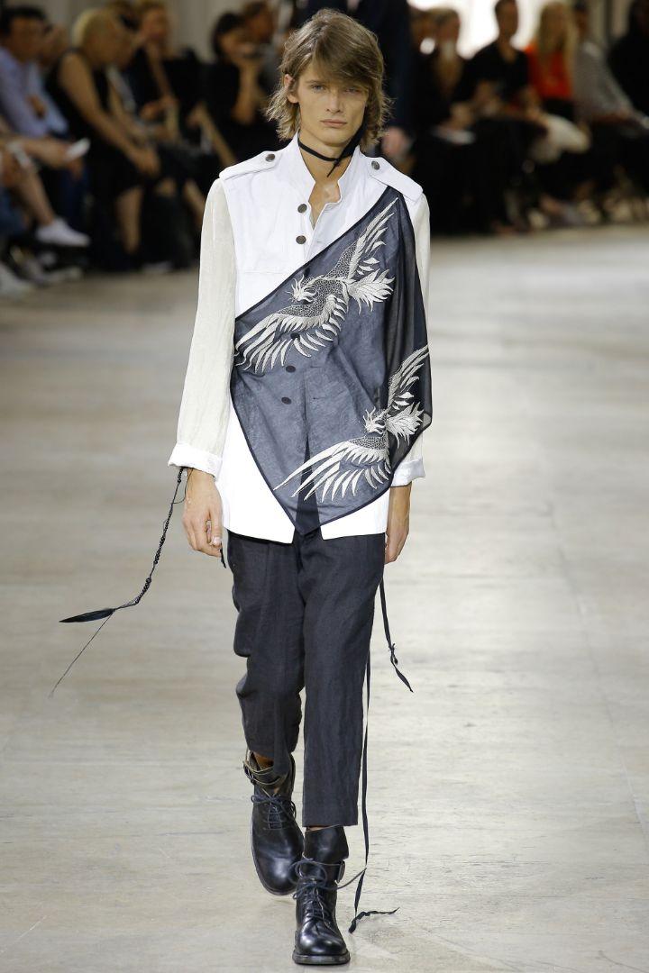 Ann Demeulemeester Menswear SS 2017 Paris (5)