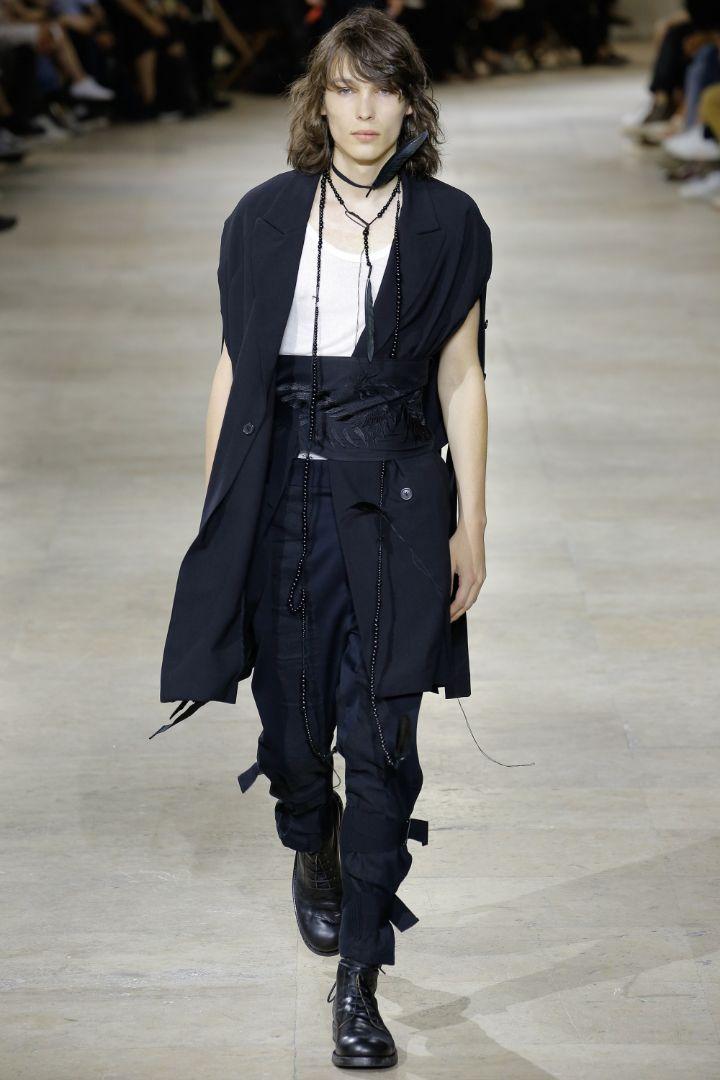 Ann Demeulemeester Menswear SS 2017 Paris (9)