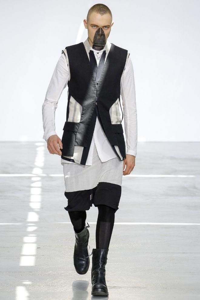 Boris Bidjan Saberi Menswear SS 2017 Paris (1)