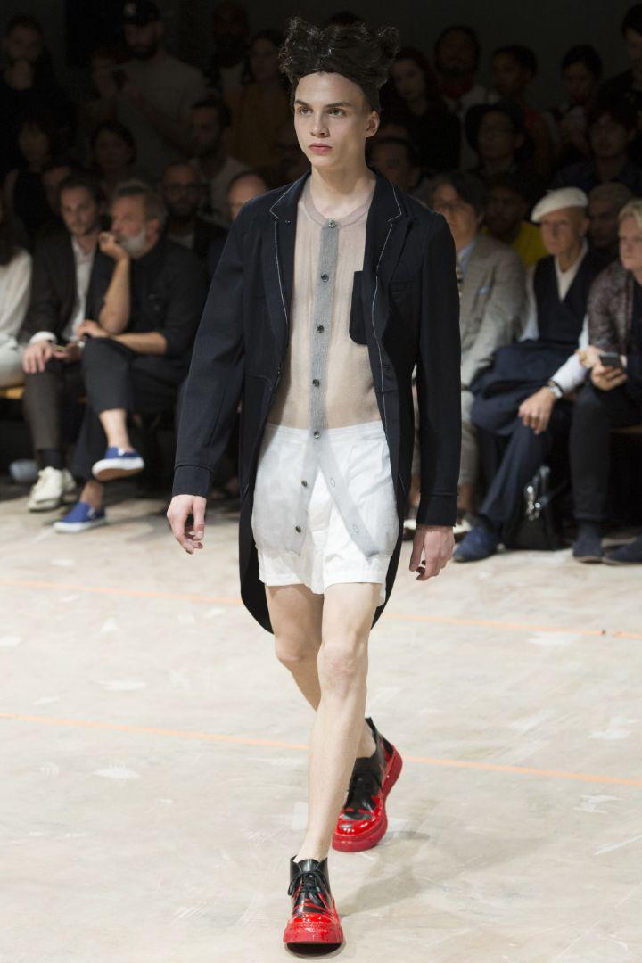 Comme des Gar+ºons Homme Plus SS 2017 Paris (37)