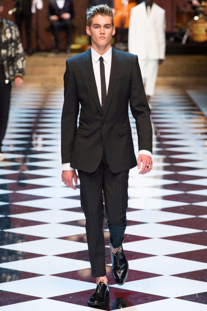 Dolce & Gabbana Menswear SS 2017 Milan (1)