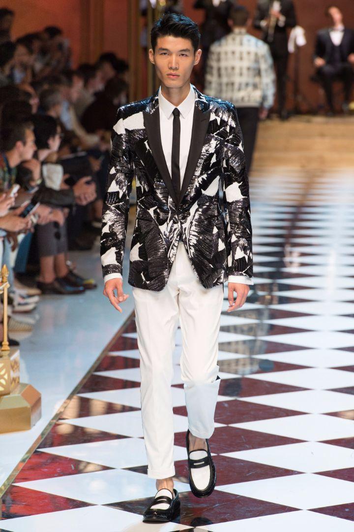 Dolce & Gabbana Menswear SS 2017 Milan (17)