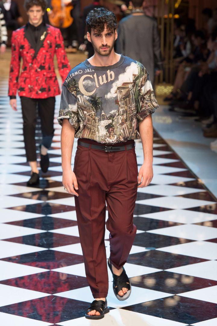 Dolce & Gabbana Menswear SS 2017 Milan (18)