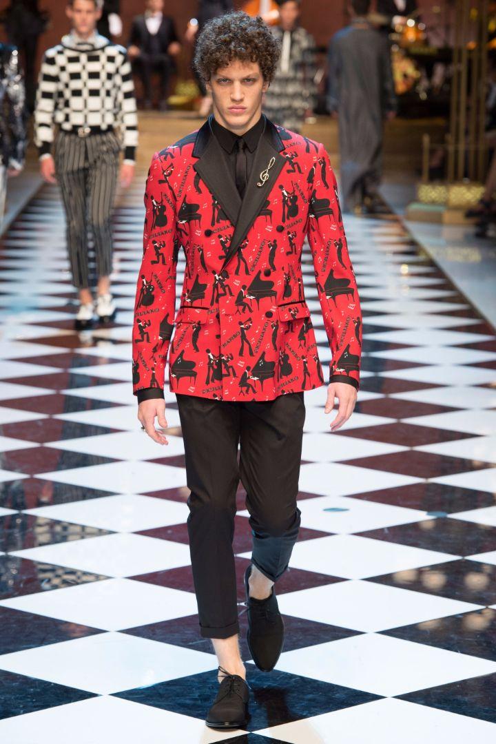 Dolce & Gabbana Menswear SS 2017 Milan (19)