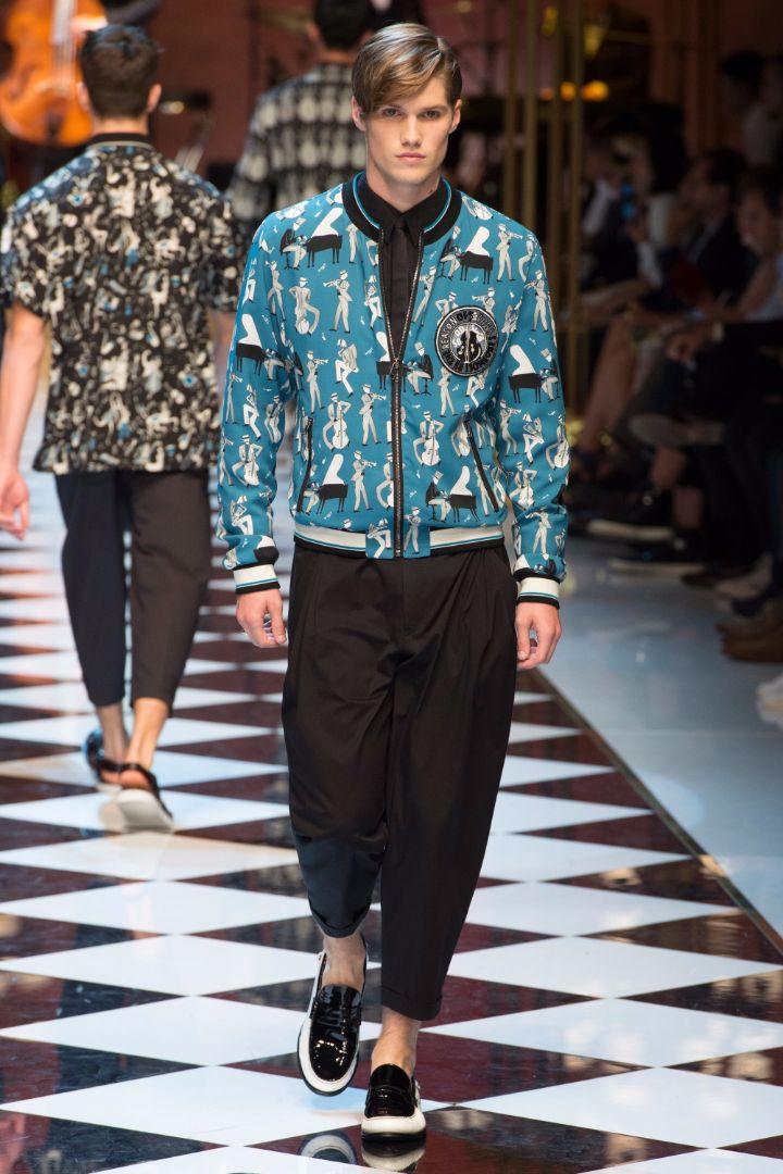Dolce & Gabbana Menswear SS 2017 Milan (24)