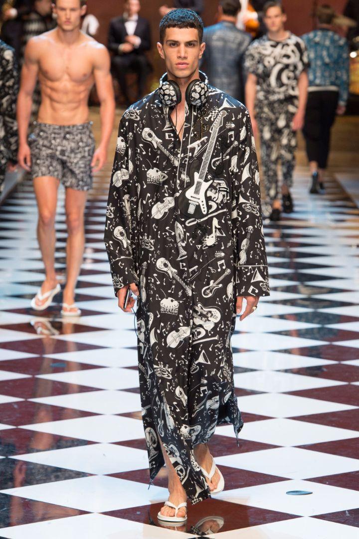 Dolce & Gabbana Menswear SS 2017 Milan (28)