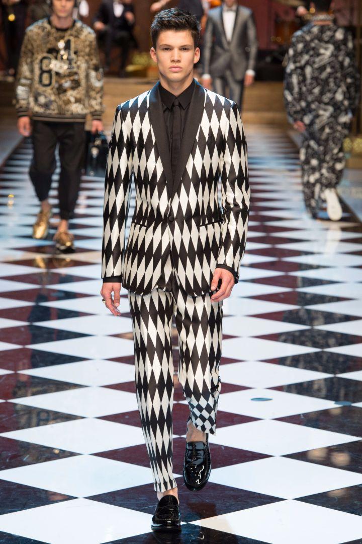 Dolce & Gabbana Menswear SS 2017 Milan (31)