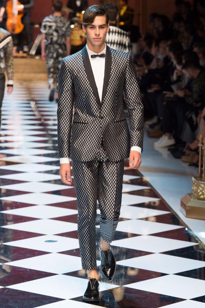 Dolce & Gabbana Menswear SS 2017 Milan (33)
