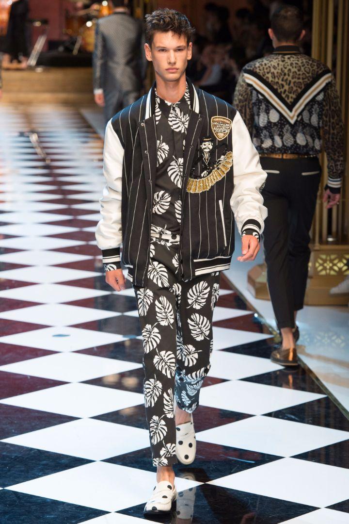 Dolce & Gabbana Menswear SS 2017 Milan (36)