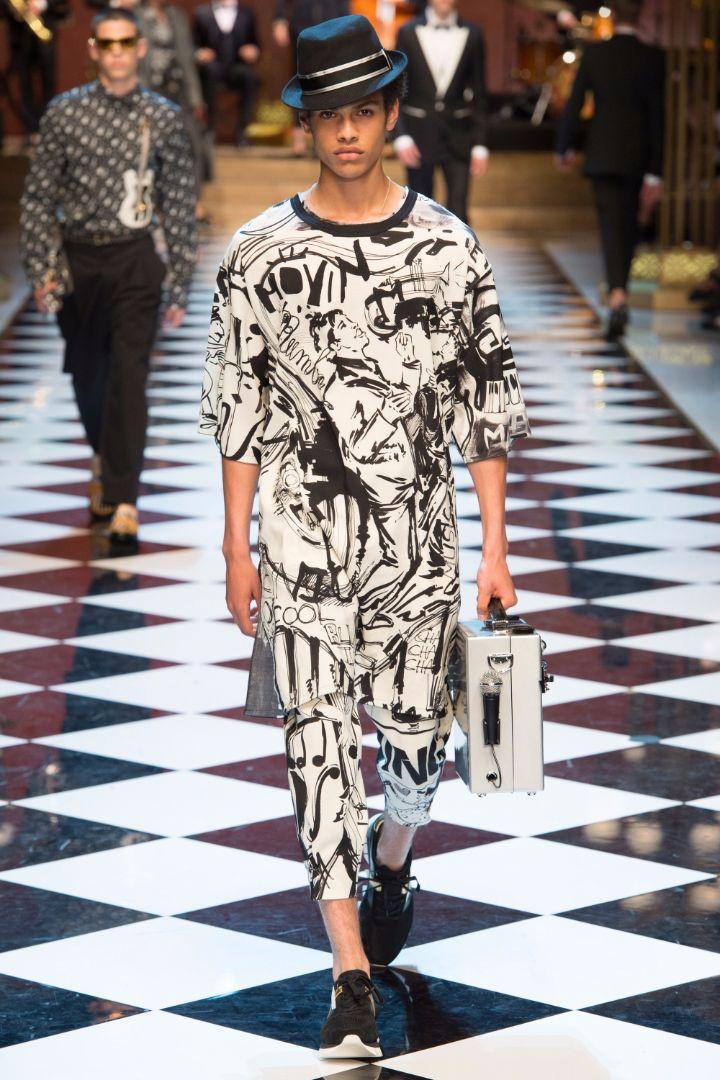 Dolce & Gabbana Menswear SS 2017 Milan (4)