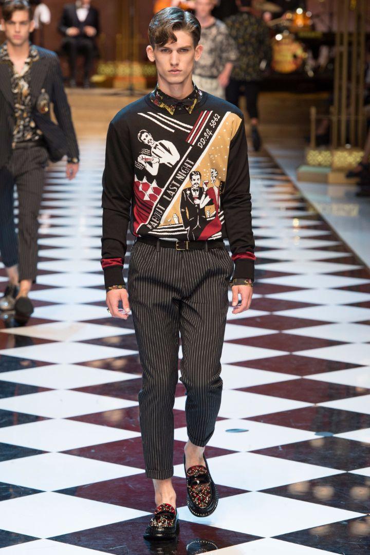 Dolce & Gabbana Menswear SS 2017 Milan (40)