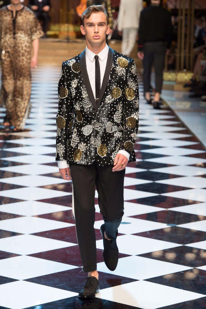Dolce & Gabbana Menswear SS 2017 Milan (43)