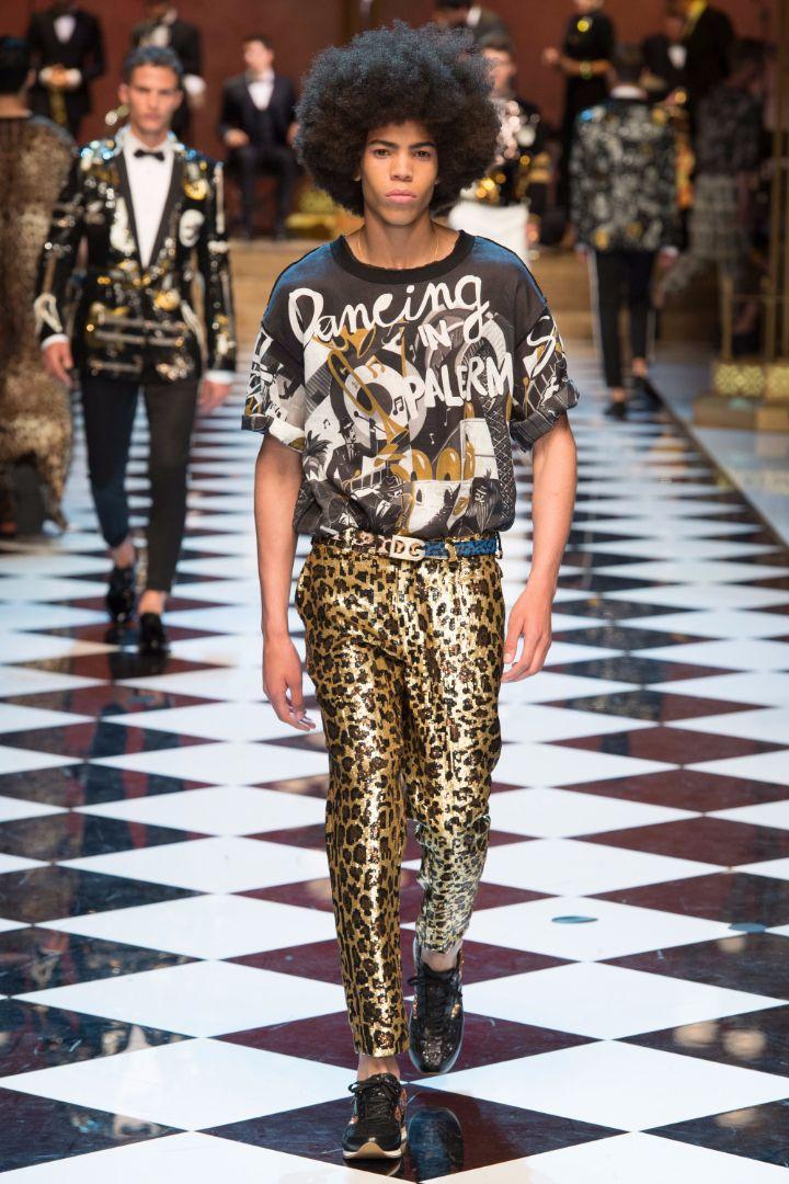 Dolce & Gabbana Menswear SS 2017 Milan (46)