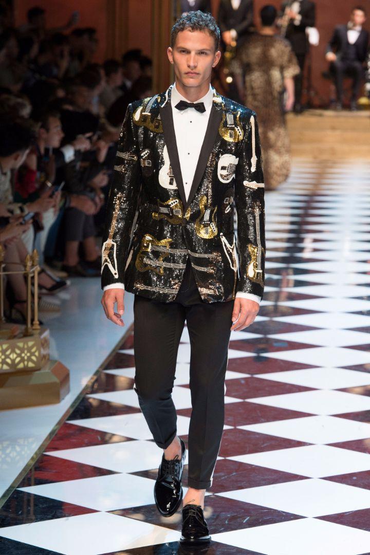 Dolce & Gabbana Menswear SS 2017 Milan (47)